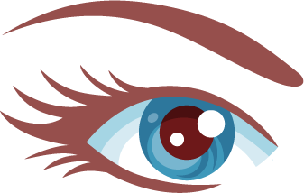 Icon-Augenbrauen